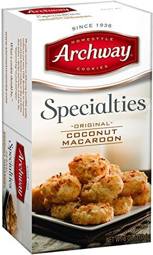 Archway, Coconut Macaroons, 10 oz - Coconut Macaroons Cookies