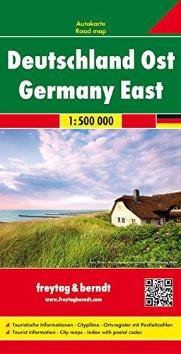 Freytag Berndt Autokarten, Deutschland Ost - Maßstab 1:500.000 (freytag & berndt Auto + Freizeitkarten)