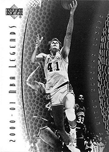 Mitch Kupchak basketball card (Los Angeles Lakers NBA Championship) 2001 Upper Deck Legends #10