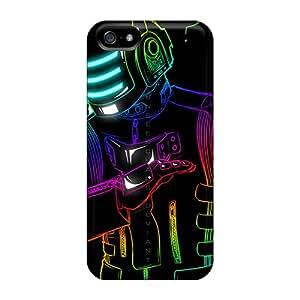 IanJoeyPatricia Iphone 5/5s Best Hard Phone Case Allow Personal Design Stylish Daft Punk Series [LQZ11371akoj]