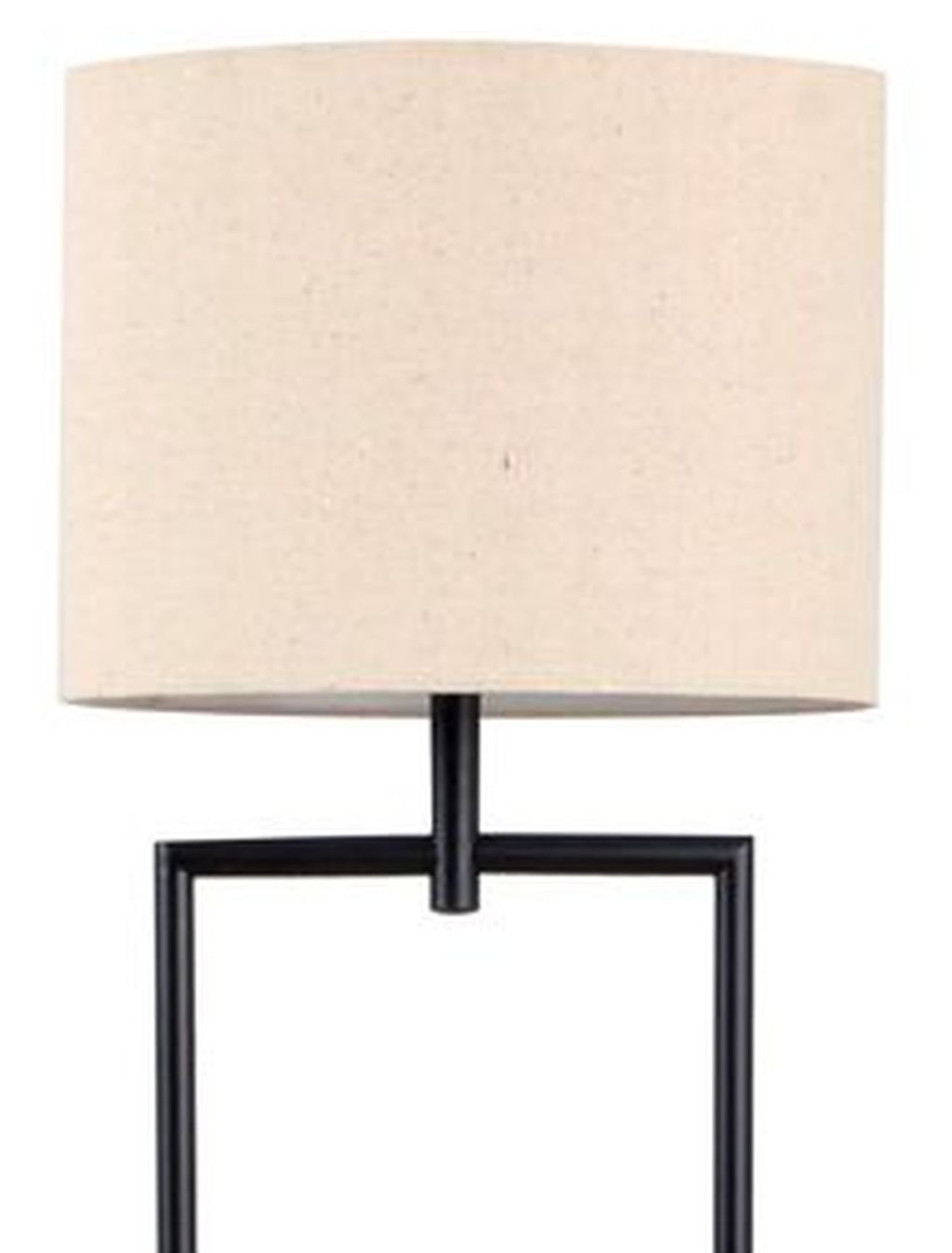 Catalina Lighting 19305 000 Transitional Etagere Floor Lamp With 3 Way Switch Shelves Ivory Beige Linen Shade