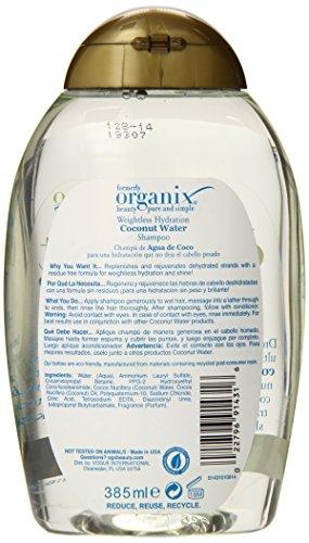 Ogx Weightless Hydration Coconut Water Shampoo 1 13