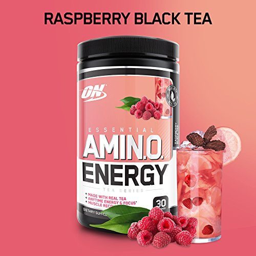 Optimum Nutrition Amino Energy, Raspberry Black Tea, Prework