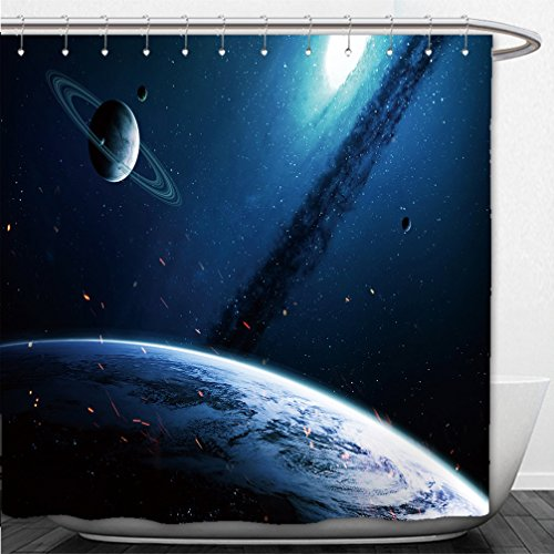 42' Star (Interestlee Shower Curtain deep space art nebulas planets galaxies and stars in beautiful composition awesome for wallpaper 534652621)