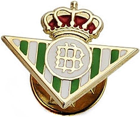 Pin oro 9k escudo Real Betis 16mm. esmaltado [AB4187]: Amazon.es ...