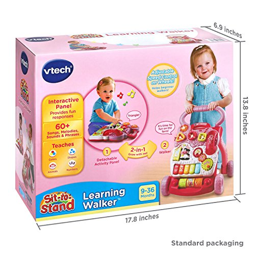 Vtech Sit To Stand Learning Walker Pink Online
