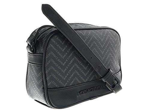 Versace EE1YOBB55 EMAQ Black/Grey Mens Messenger Bag