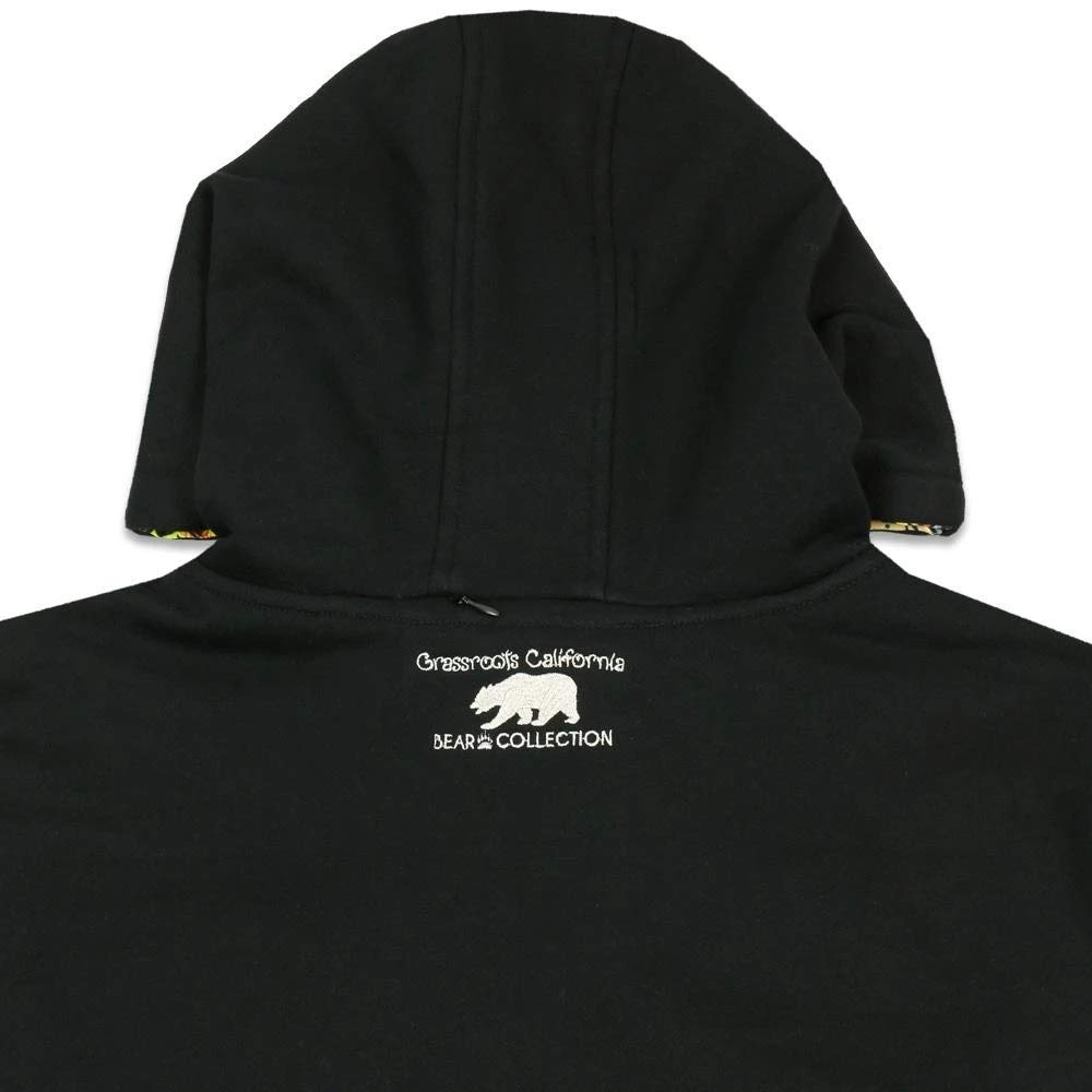 Grassroots California Jimbo Phillips Removable GRC Bear Tall Pullover Hoodie