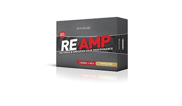 Bodyraise Re-Amp Protein Bar - Paquete de 6 x 50 gr - 300 gramos: Amazon.es: Salud y cuidado personal