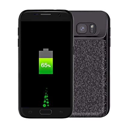 Amazon.com: Funda cargador de S7 edge, novpeak 5200 mAh ...