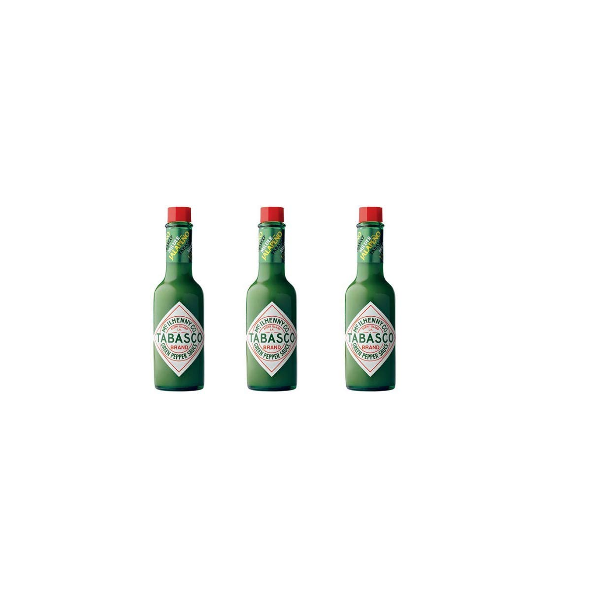 Tabasco Green Pepper Sauce, 5-ounce Bottle (Pack of 3)