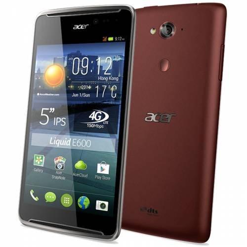 Smartphone / PDA Phone Acer SMARTPHONE LIQUID E600 DARK RED HM ...