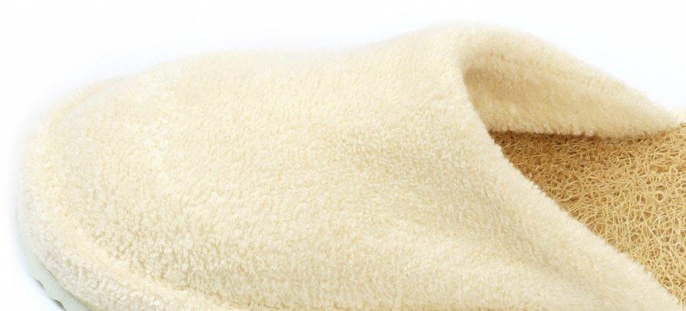 Loofah Savannah Closed Toe Spa Slippers Size 37-38 European E-F11/1AD0-S