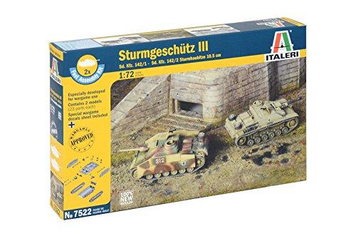 Italeri 7522–1: 72Sd. Kfz 142/1Storm GESCH. III