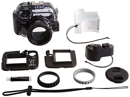 (Sony RX100 Underwater Housing for RX100-series Cameras Underwater Camera Housing, Clear (MPK-URX100A))