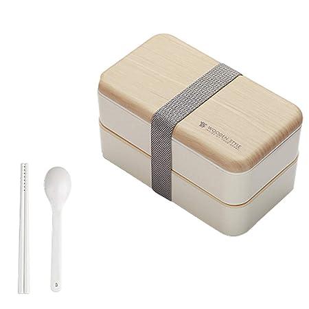 Dkings Bento Box portátil Lonchera para microondas Japanese ...
