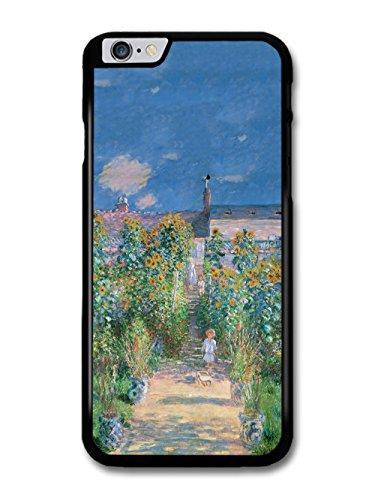 Claude Monet The Artists Garden at Vetheuil Artist Art Vintage case for iPhone 6 Plus 6S Plus