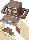 Platte River 800500, 100-pack, Hardware, Locks And Latches, Magnetic Catches, 25# Single Magnetic Catch