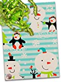 24'' X 100' Chilly Chums Gift Wrap