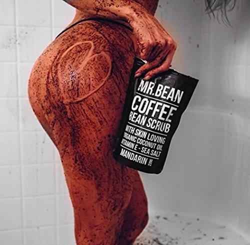 Amazon.com : Mr. Bean Organic All Natural Coffee Bean Exfoliating ...