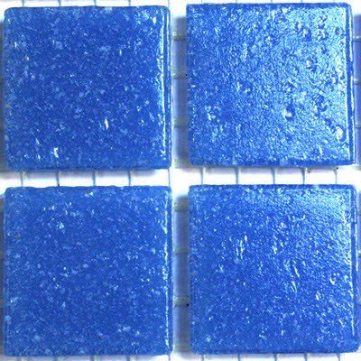Vitreous Glass Mosaic Tiles 20mm Petrol Grey by Hobby Island Mosaics