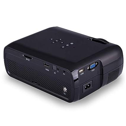 Cassiel Y Proyector, Mini proyector, proyector de Video, Compatible con Fire TV Stick