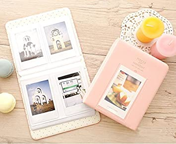 64 Taschen PVC Album Fall Lagerung Polaroid-Foto für Mini Fuji Film Instax  DE
