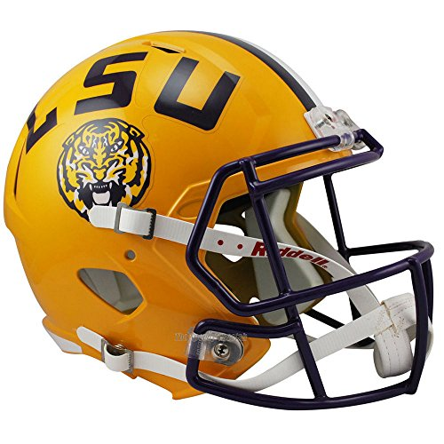 LSU Tigers Officially Licensed NCAA Speed Full Size Replica Football Helmet