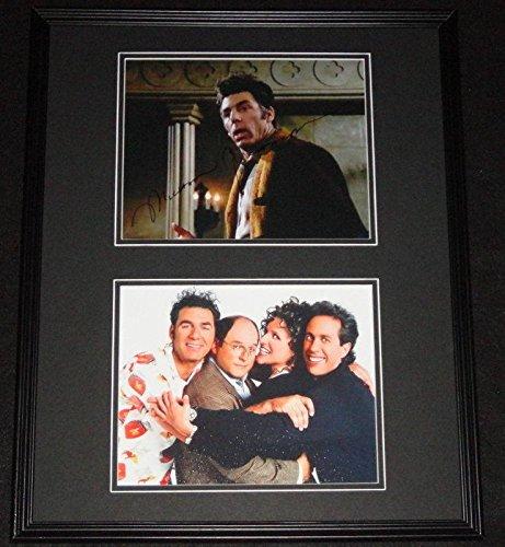 Michael Richards Signed Framed 16x20 Photo Set Cosmo Kramer Seinfeld B - JSA (Cosmo Framed)
