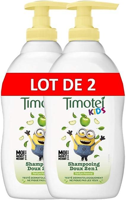 Timotei Kids 2en1 Champú Suave Manzana 400 ml – juego de 2: Amazon ...