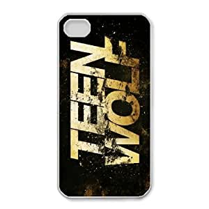 iphone4 4s case(TPU), **** wolf Cell phone case White for iphone4 4s - HHKL3340670