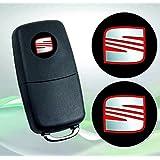 Seat Emblema Logo Llave Mando a distancia – Juego de 14 mm – 2pieza