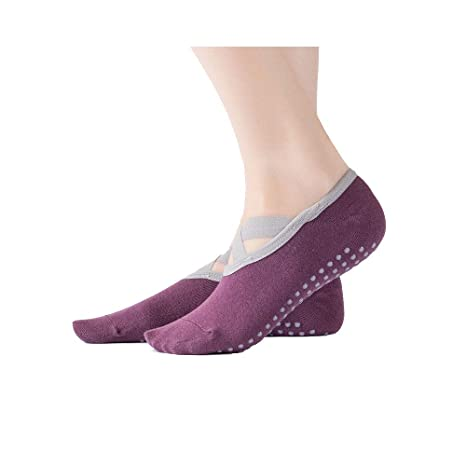 XXIAZHI,3 Pares de Calcetines de Yoga Mujer Calcetines ...