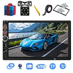 Double Din Car Stereo-7 inch Touch Scree...
