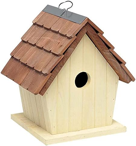Verdemax 5748 Caja de Madera para pájaros pequeños