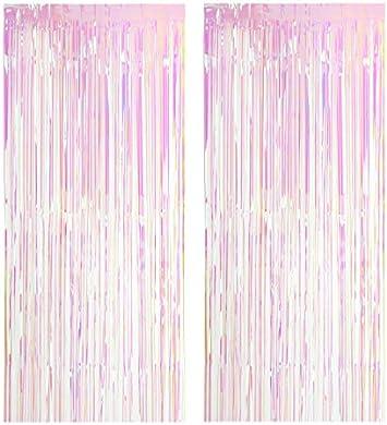 Pack de 5 Brillant Feuille Porte Rideaux Pour Décorations de Fête-Violet
