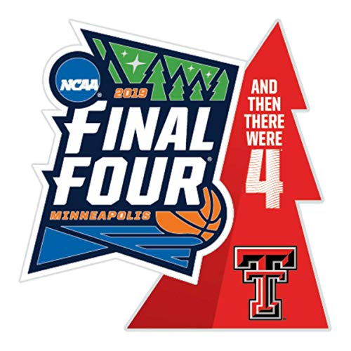 WinCraft Texas Tech Red Raiders 2019 NCAA Basketball Final Four March Madness Lapel Pin