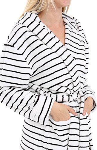 1f06f9b577 Alexander Del Rossa Womens Fleece Solild Robe