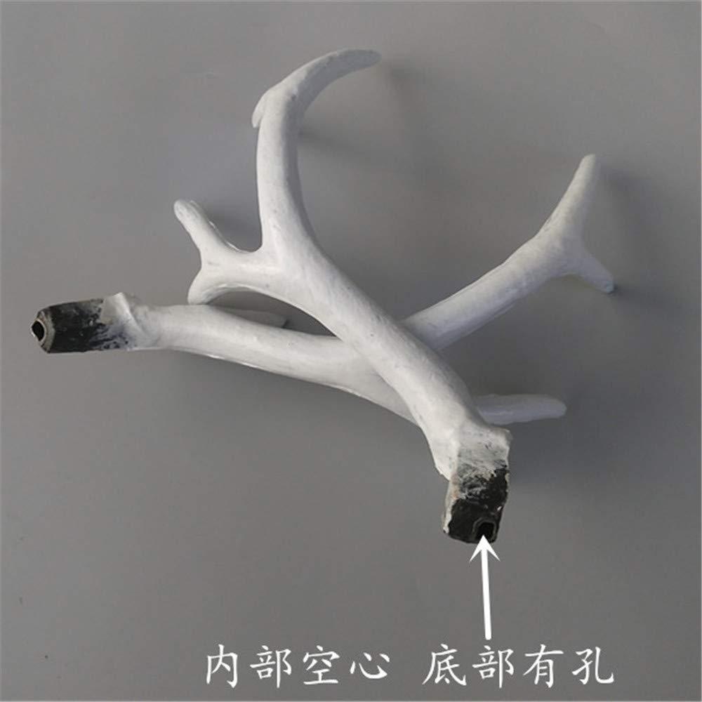 Amazon.com: Hecho a mano 7.9 in blanco Simulación plástico ...