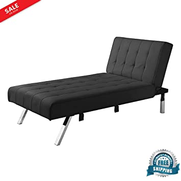 Attrayant Reclining Chaise Lounge Chair Indoor Sleeper Faux Leather Furniture Modern  Large Reclining Multi Position Back