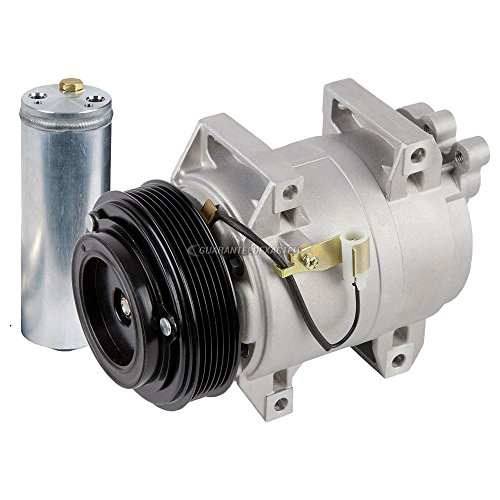 Volvo S80 A/c Compressor (Premium Quality New AC Compressor & Clutch With A/C Drier For Volvo S60 S80 - BuyAutoParts 60-86312R2 New)