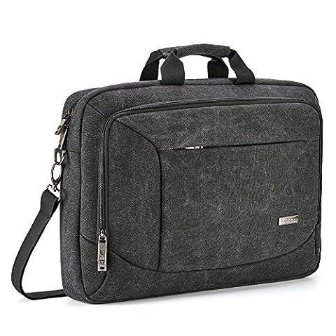 17.3 inch Laptop Messenger Bag, Evecase 17.3