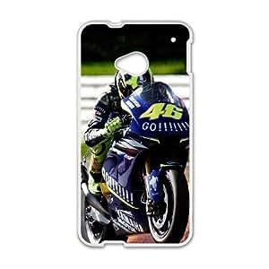 HTC One M7 Phone Case White Valentino Rossi PLU6218183