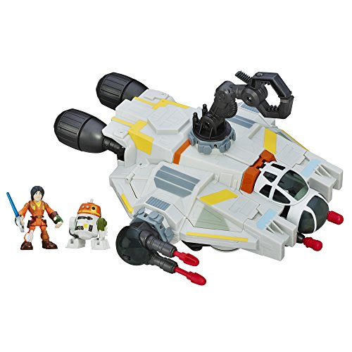 Star Wars Galactic Heroes The Ghost (Star Wars Rebels Ghost Ship Toy)