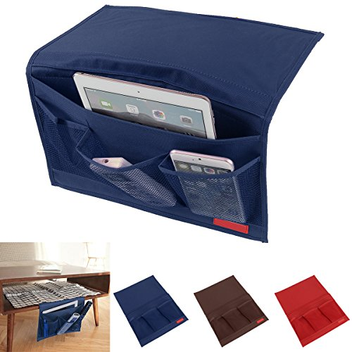 Pockets Bedside Organizer Slipcovers Controller