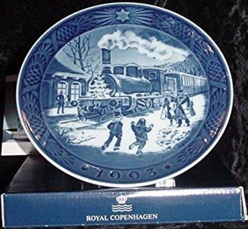 1993 Royal Copenhagen Christmas Plate -- New In Box -- Scarce! (Plates Royal Copenhagen Collector)