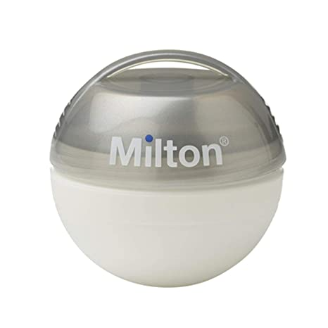 Milton Mini Chupete Esterilizador, Plata: Amazon.es: Bebé