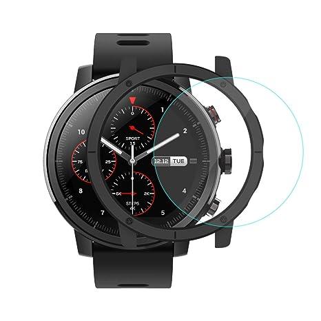 [Inglés Versión] Xiaomi Huami Amazfit Stratos Smartwatch con GPS 5ATM Nadando Impermeable PPG Monitor