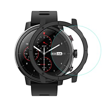 [Inglés Versión] Xiaomi Huami Amazfit Stratos Smartwatch con GPS 5ATM Nadando Impermeable PPG Monitor de Frecuencia Cardíaca Bluetooth Música Original ...