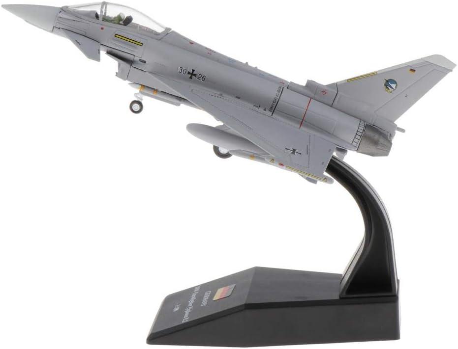 harayaa EF2000 Eurofighter Typhoon avión Fundido a presión Escala 1:100: Amazon.es: Juguetes y juegos